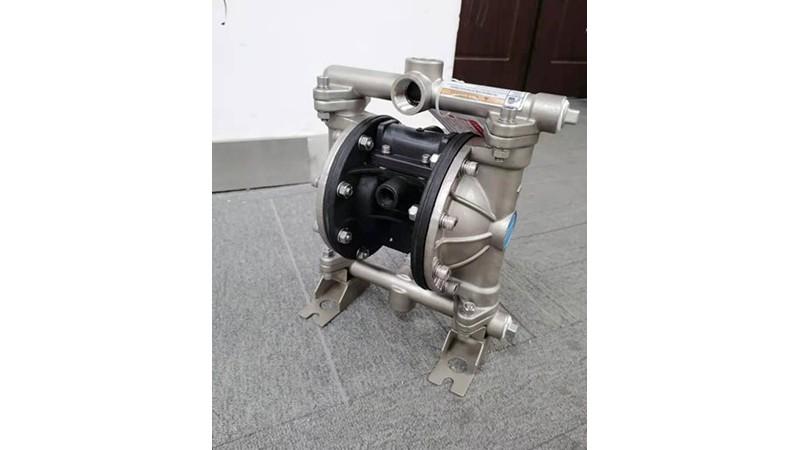 气动隔膜泵检验孔漏液怎么办?