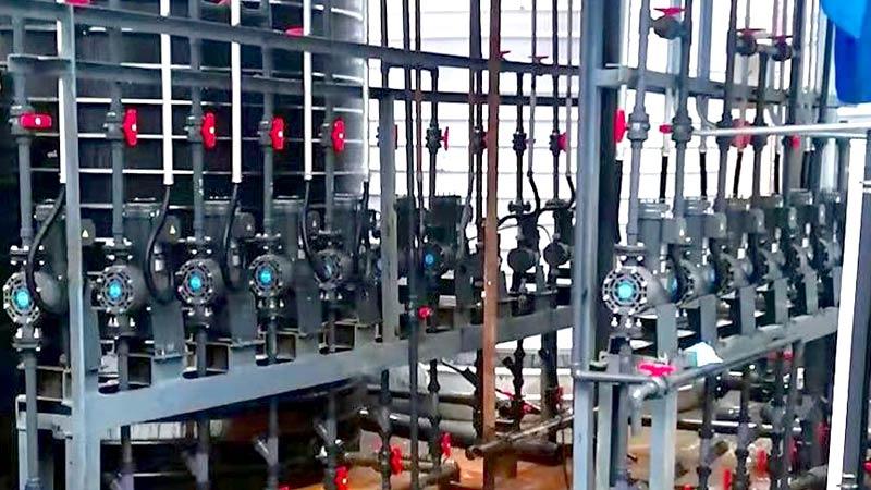 振港染料化工计量泵案例
