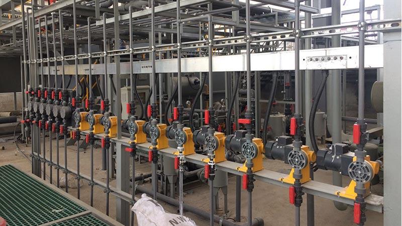 马鞍山槟城电子机械隔膜计量泵案例