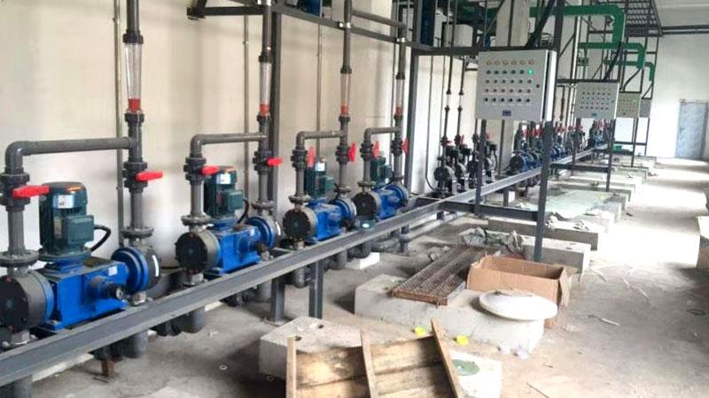 海润光伏计量泵案例