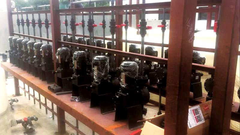 金澳焦化生化项目计量泵案例