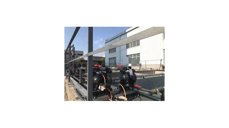 阿森河铸铁气动隔膜泵的特点及技术参数